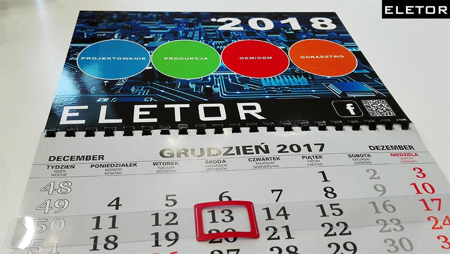 Kalendarz ELETOR 2018