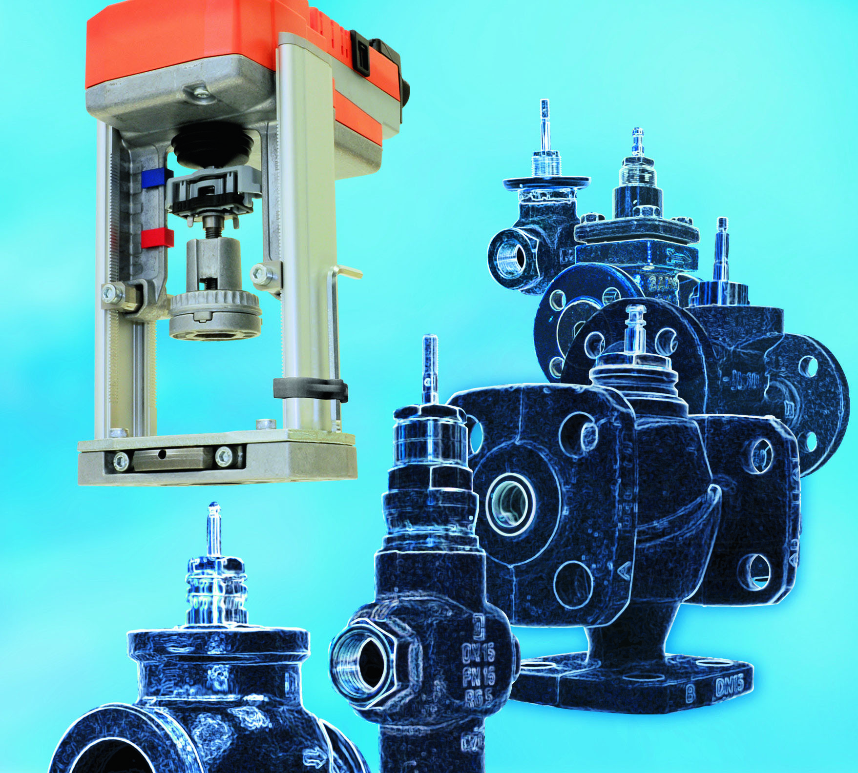 The revolutionary retrofit globe valve actuators. Suitable for your valves.
