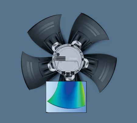 Technologia Hyblade ebm-papst