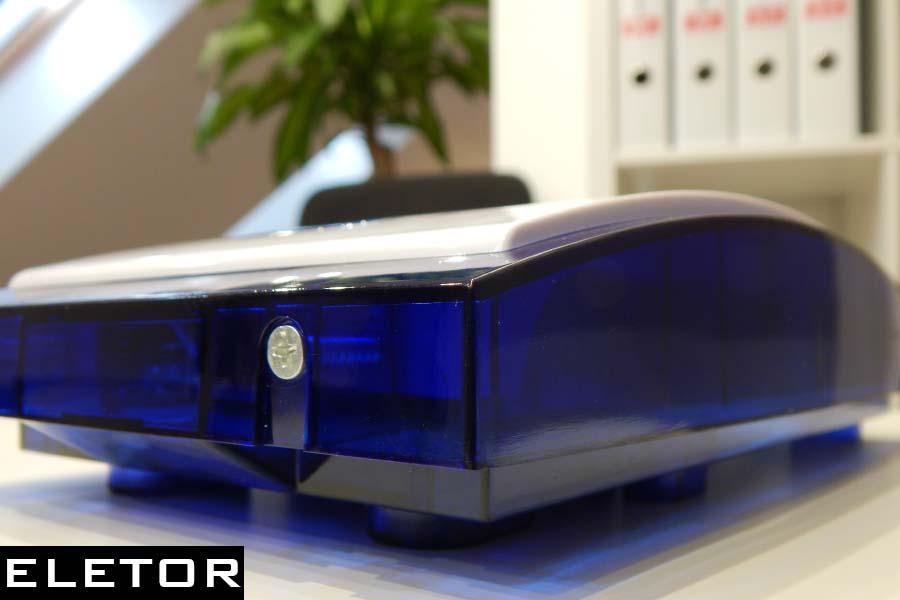 Eletor alarm niebieski sygnalizator