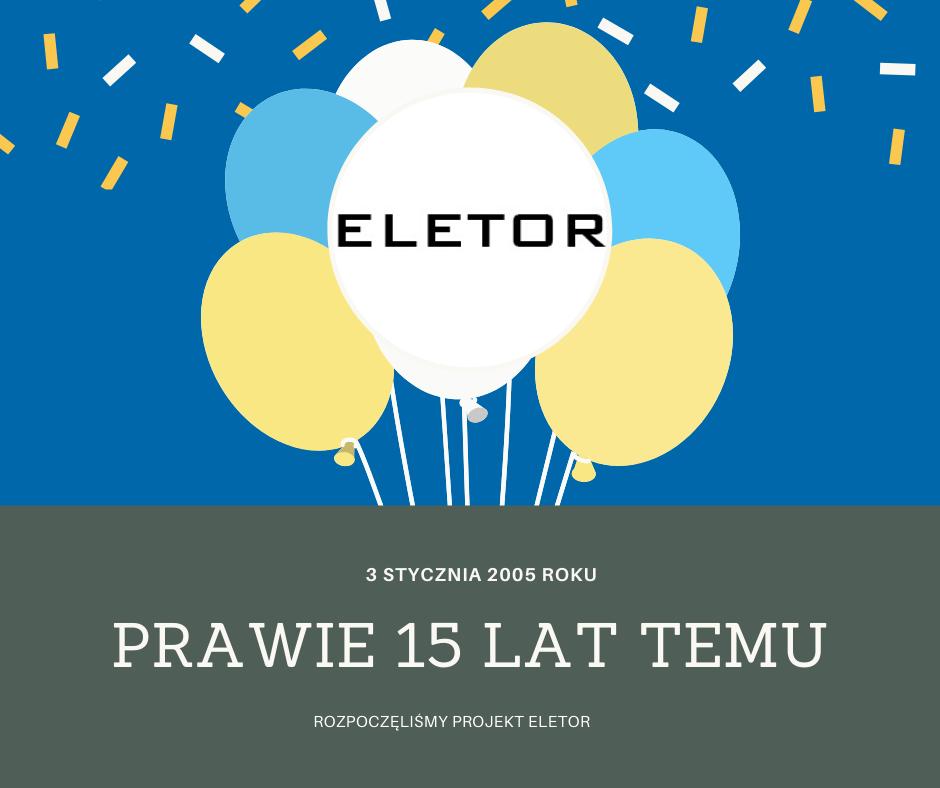 15 urodziny firmy ELETOR