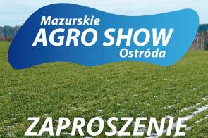 Zaproszenie na Mazurskie Agro Show w Ostródzie przez firmę ELETOR