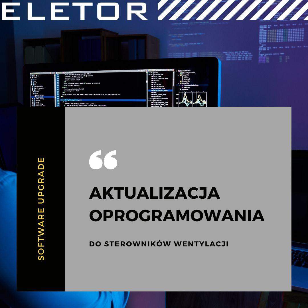 Eletor aktualizacja oprogramowania