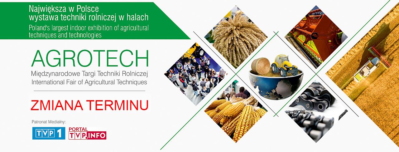 Agrotech zmiana terminu