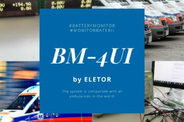 Ambulance Battery Monitor System BM-4UI